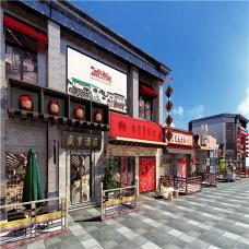 沈阳盛京印象商业街包装